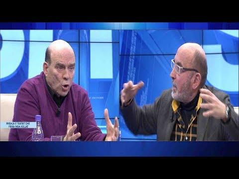 Shembja e Teatrit Kombëtar, debati i Lubonjës me Ndriçim Xhepën, Çulin e Kamen