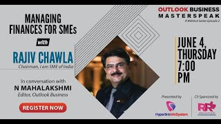 Masterspeak Ep2 - Managing Finance for SMEs With Rajiv Chawla