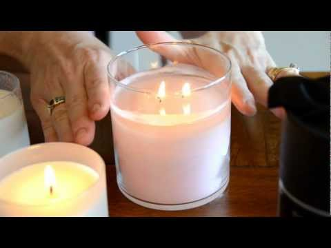 How to burn Glasshouse Candles