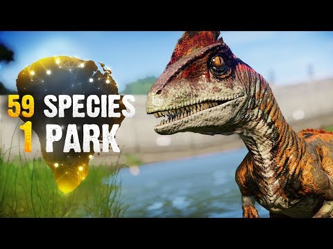 59 SPECIES, 1 PARK! | Part 3 (Jurassic World: Evolution All-Species Park)