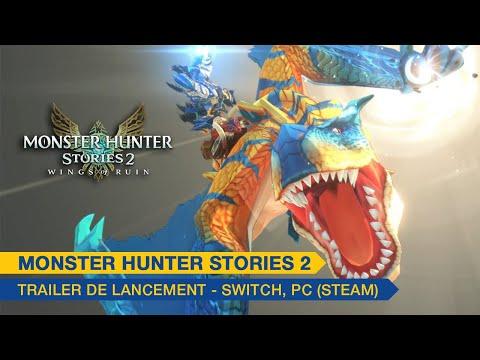 Trailer de lancement sur PC et Switch de Monster Hunter Stories 2: Wings of Ruin