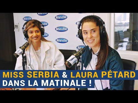 [La Matinale] Miss Serbia et Laura Pétard dans la Matinale !