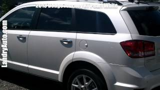 preview picture of video '2013 Dodge Journey RT Pearl White'