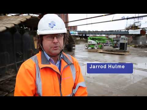Severfield working on the Ordsall Chord Project