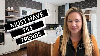Kitchen Backsplash Ideas 2020 || TOP 5 KITCHEN TILE TRENDS!!