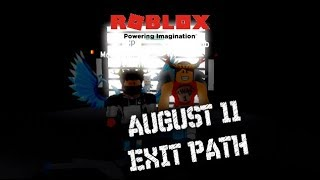 OLD EXIT AUGUST 11 2017 The Maze Runner Exit Path | Roblox