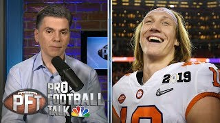 Will Clemson's Trevor Lawrence sit out a season to prepare for NFL?   Pro Football Talk   NBC Sports