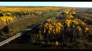 Northern Saskatchewan Fall Colors Montage DJI Inspire 1 4K