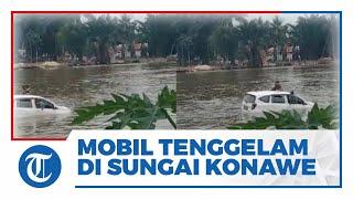 Mobil Berisi Satu Keluarga yang Hendak Melayat Tenggelam di Sungai Daerah Konawe, 3 Orang Tewas