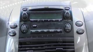 Sienna Radio Display Repair
