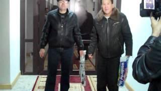 "Инвалид поджег бутылку с бензином в здании ""АрселорМиттал Темиртау"""