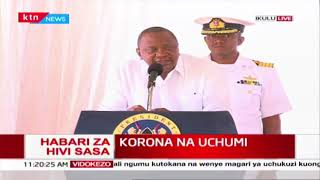 President Uhuru calls business fraternity to act in the interest of the country for survival