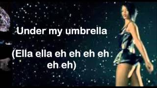 Umbrella (Orange Version) (Lyrics On Screen) ~ Rihanna Ft. JAY Z