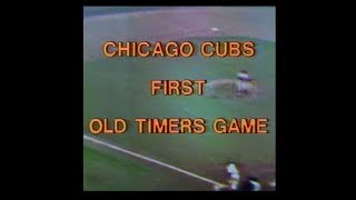 WGN Channel 9 - Chicago Cubs -Cubs Old Timers Vs. Hall Of Famers (Complete Broadcast, 6/25/1977) 📺
