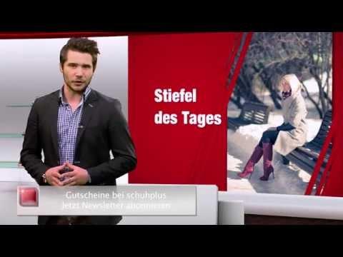 Damen Stiefel in Übergrößen. Große Schuhe bei schuhplus. Schuh des Tages - 26.11.2014