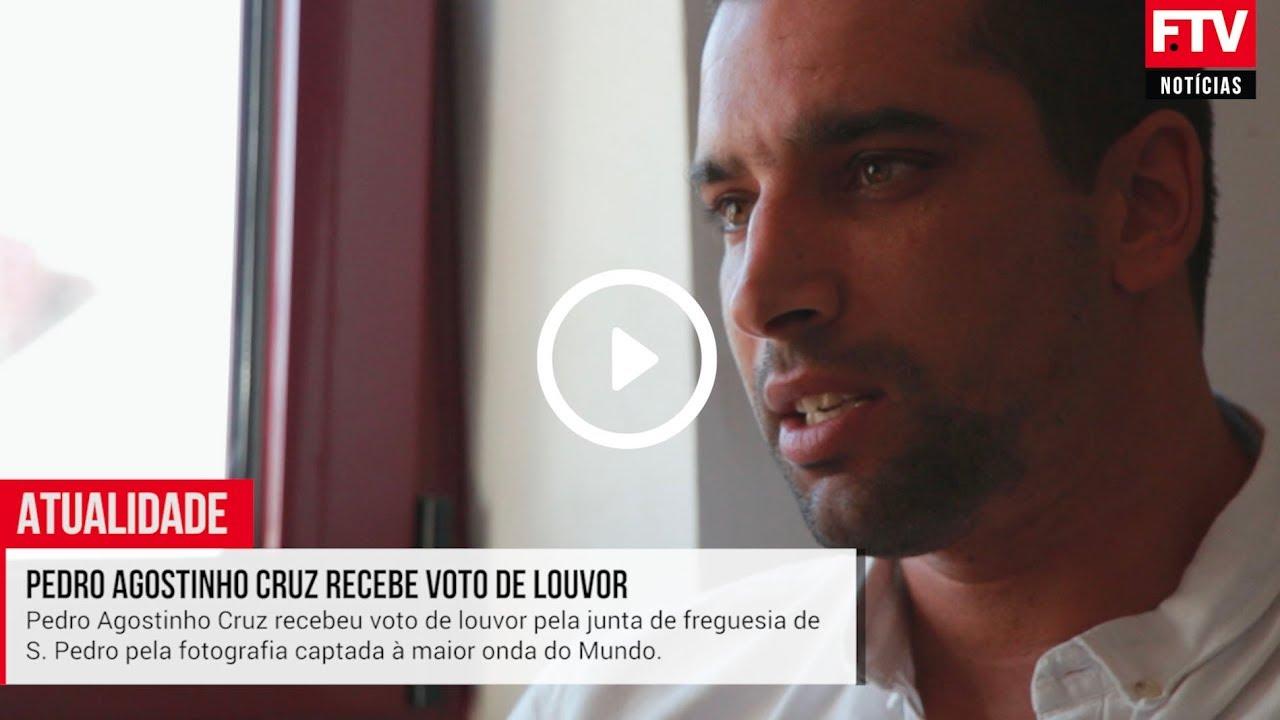 Pedro Agostinho Cruz recebe voto de louvor