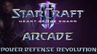 StarCraft 2 Heart Of The Swarm - Arcade : Poker Defense Revolution [German HD]