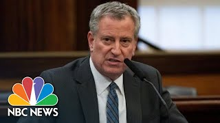 NYC Mayor Bill de Blasio Briefing On Coronavirus, George Floyd Protests | NBC News
