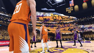 Los Angeles Lakers vs. Phoenix Suns - 2020 NBA First Round Playoffs! - Full Gameplay