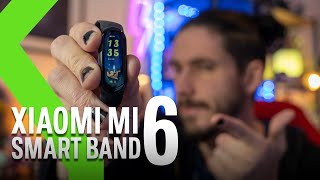 Xiaomi Mi Smart Band 6: tan RECOMENDABLE e IMPERFECTA como siempre