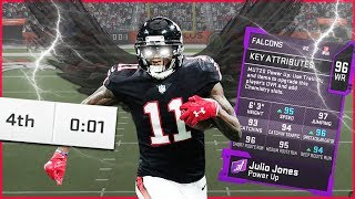 Julio Jones Making Unbelievable Plays With Game On The Line! (Madden 20 Ultimate Team)