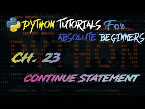 Continue Statement In Python #23 | Python Tutorial | Beginners To Advance || In Hindi