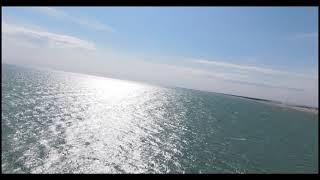3 aprile 2021 Bibione Spiaggia Vento forte DJI FPV + Motion Controller