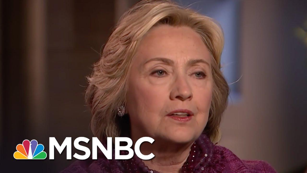 Hillary Clinton Responds To Syrian Airstrikes | MSNBC thumbnail