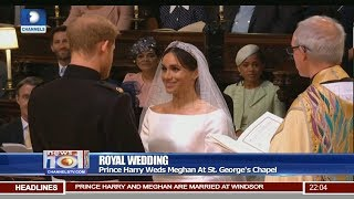 Serena, Beckham And 598 Others Attend Royal Wedding At St.George's Chapel 19/05/18 Pt.1 |News@10| | Kholo.pk