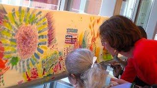Mille et une couleurs au service du bien-être des patients