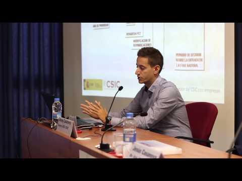 Ponencia de Josep Calaforra. El CSIC y la Transferencia de Conocimiento