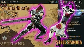 FULL SET Mother Death Defeat Steel Sakura   Battle Blossom Festival   Shadow Fight 3 Event √