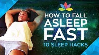 How to Fall Asleep Fast! 10 Sleep Hacks to Cure Insomnia (Free Guided Sleep Meditation)