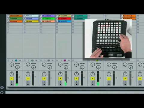 Akai Pro APC20 Ableton Live Controller: Grid, Navigation, Pan/Shift, Stop Clip Tutorial