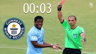 Top 10 Fastest Red Cards