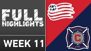 HIGHLIGHTS: New England Revolution vs. Chicago Fire | May 14, 2016 by Major League Soccer