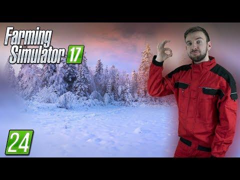 ZIMA ZAČÍNÁ! | Farming Simulator 17 #24