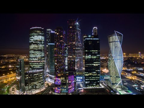 Modern Moscow. Europe's largest city (видео)