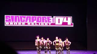 Black Jack - Singapore Dance Delight Vol. 4 Finals (2013)