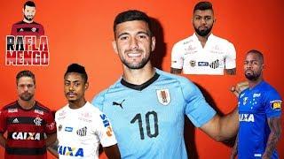 ARRASCAETA FECHANDO COM MENGÃO NO URUGUAI! BRUNO HENRIQUE/GABIGOL/DEDÉ/DIEGO