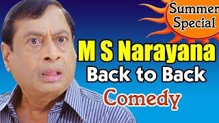M S Narayana Back to Back Comedy Scenes
