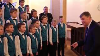 """Jāzepa Mediņa Rīgas 1. mūzikas skolas zēnu kora Lieldienu koncerts """"Te invocamus"""""""