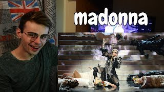 Madonna   Like A PrayerFuture Ft. Quavo | Live At Eurovision 2019 REACTION