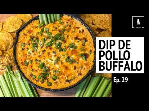 Dip de Pollo Buffalo | La Mejor Receta Sencilla Para Hacer Con Amigos | Ep. 29 - Antojitos de Arnie