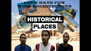History Of Architecture(Historical Places)
