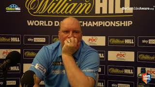 """Vincent van der Voort on beating Aspinall: """"Practice room was so cold, the PDC should do something"""""""