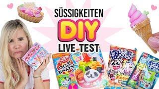 Japanische DIY Sets zum ESSEN! 😱 Panda Squishy Süßigkeiten! Popin Cookin im Live Test!