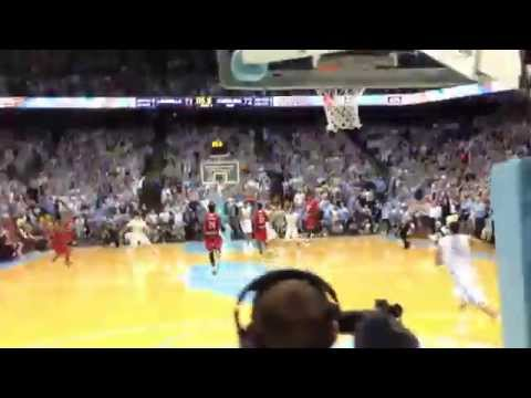 Video: Marcus Paige's game-winner view from the student section