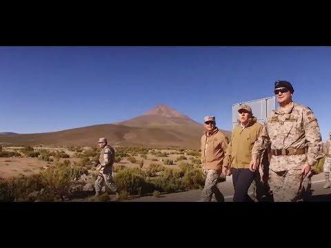 Patrullas del Ejército de Chile en Cariquima