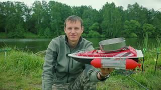 Радиоуправляемый кораблик для рыбалки своими руками схема